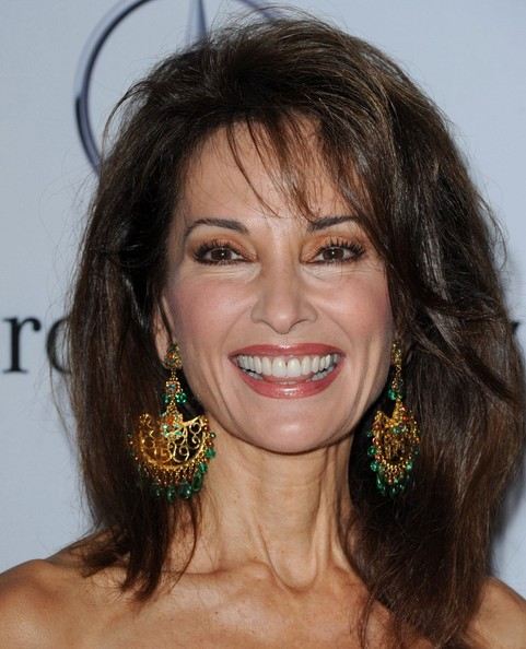 Susan Lucci's Full-Bodied Hairstyle