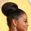 Octavia Spencer's  Voluminous Bun