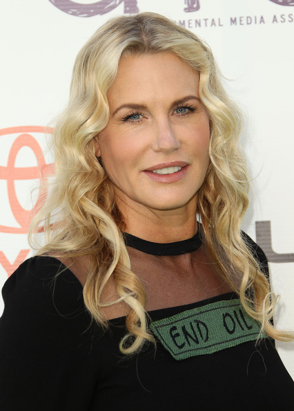 Daryl Hannah's Waterfall Waves