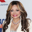 La Toya Jackson's Center-Parted Curls