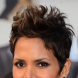 Halle Berry's Spiked Hair
