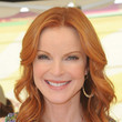 Marcia Cross' Vibrant Red