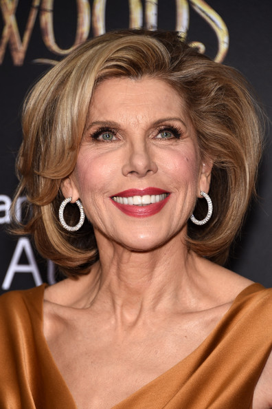 Christine Baranski's Voluminous Cut