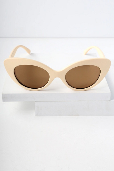 Matte Mirrored Sunglasses