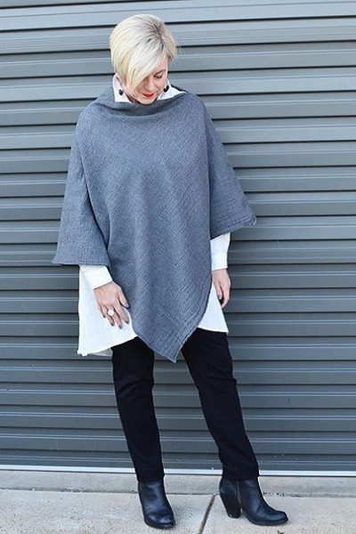 Layer Up With Ponchos