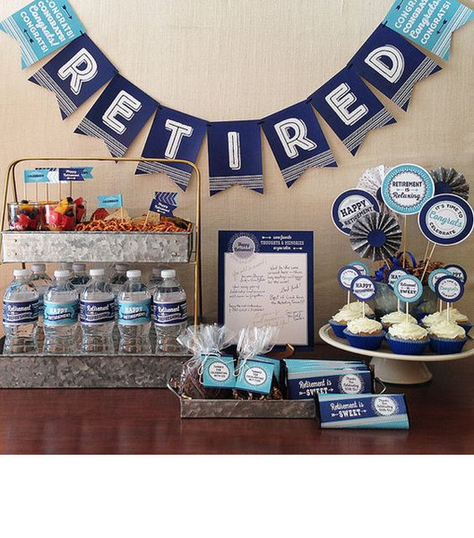 Fun And Easy Retirement Party Decor Ideas It S Rosy