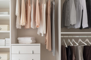 How To Reorganize Your Closet And Spark Joy