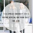 Marc Jacobs 'Appreciate Individuality' Quote