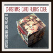 Christmas Card Rubiks Cube