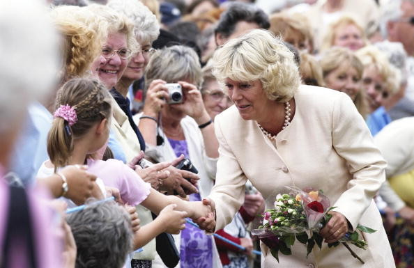Camilla's First Public Walkabout, 2003