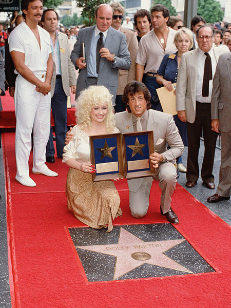 She Has Two Stars On The Hollywood Walk Of Fame